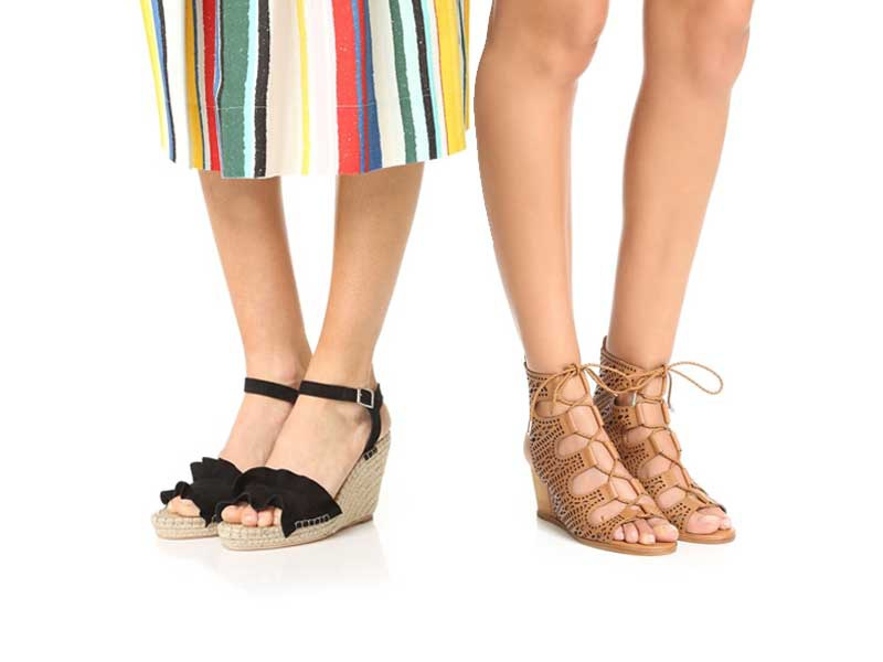 The Ten Best Wedge Sandals