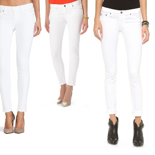 Rank & Style - Best White Skinny Jeans