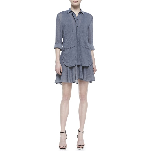 Best Shirt Dresses - 10 Crosby Derek Lam Cotton Shirt Dress