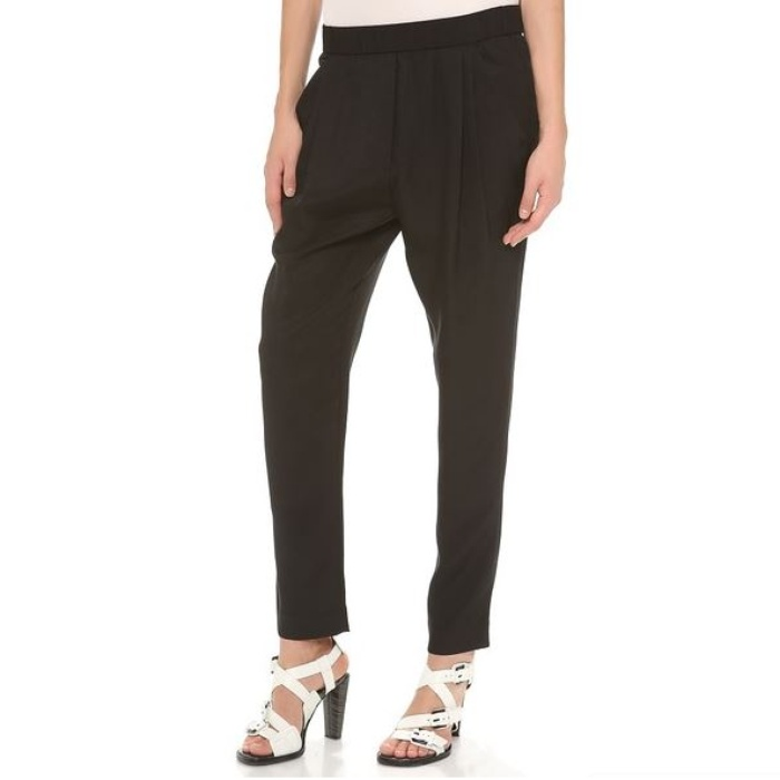 Best Joggers - 3.1 Phillip Lim Draped Pocket Trousers