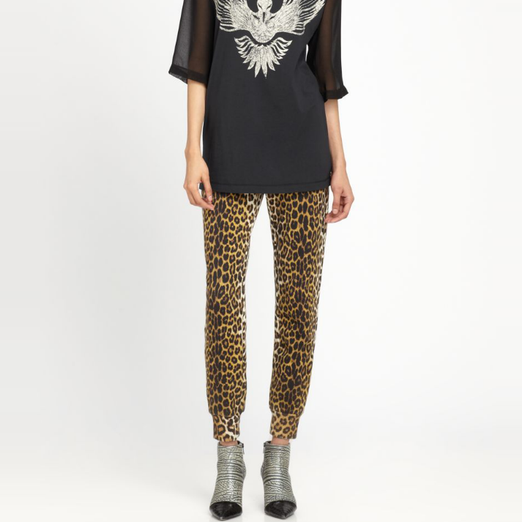 Best Printed Pants - 3.1 Phillip Lim Leopard-Print Track Pants