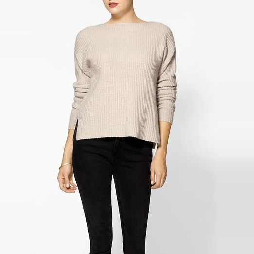 Best Cashmere Sweaters - 360 Sweater Celine Cashmere Rib