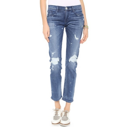 Best Distressed Jeans For Spring - 3x1 Distressed Boyfriend Jeans