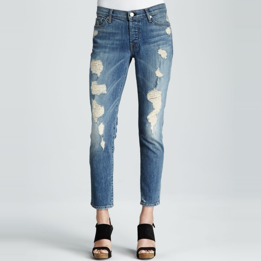 Best Ripped Jeans - 7 For All MankindJosefina Boyfriend Jeans