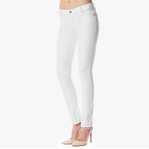 Best White Skinny Jeans - 7 For All Mankind The Skinny in Clean White