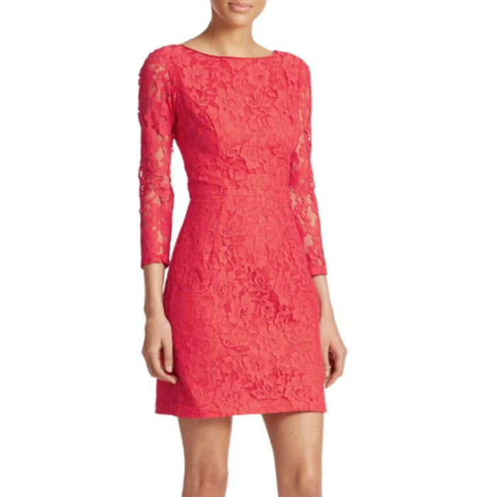 Best Dresses Under $250 for Summer Weddings - ABS Lace Sheath
