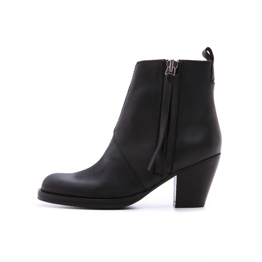Best Fall Boot Preview...Shoes to Watch and Want - Acne Studios Pistol Booties