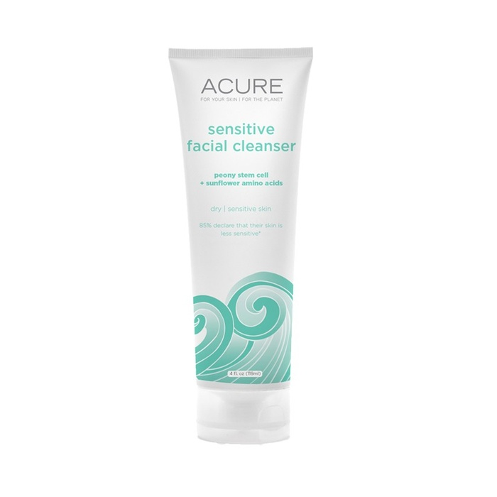 Best Natural Face Cleansers - Acure Organics Sensitive Facial Cleanser