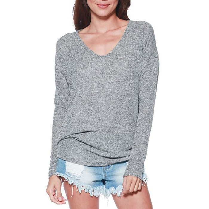 Best Lightweight Sweaters - A+D Womens Thin Dolman Sleeve Knit Pullover Sweater Top