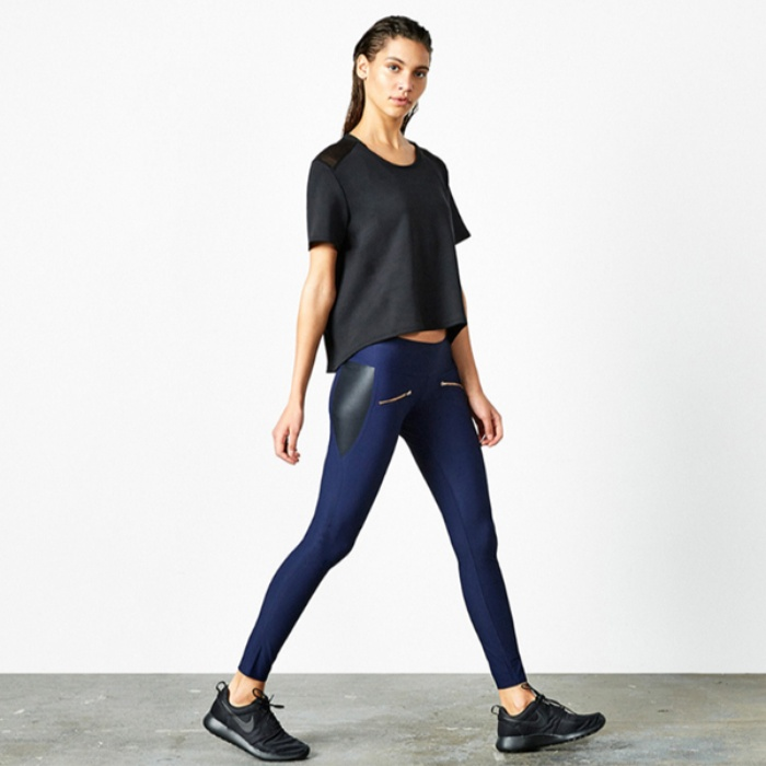 Best Activewear Styles for Fall - ADAY Throw & Roll Leggings