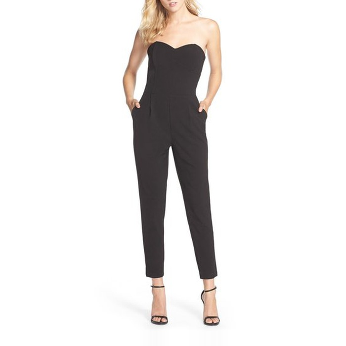 Best Jumpsuits - Adelyn Rae Strapless Jumpsuit