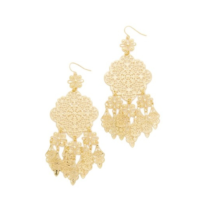 Best Statement Earrings Under $50 - Adia Kibur Callie Chandelier Earrings