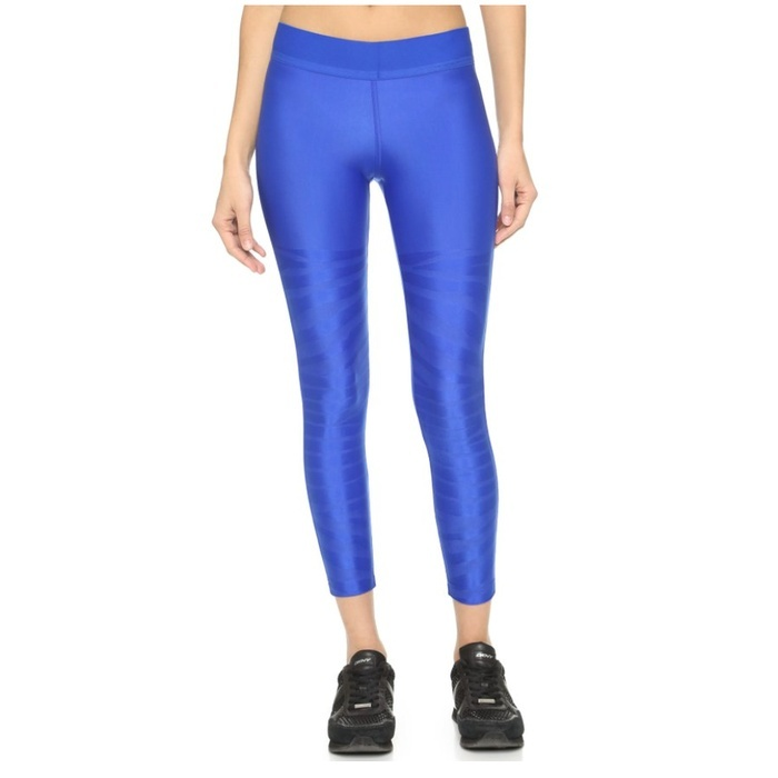 Best Rio Ready Activewear Styles - Adidas by Stella McCartney Women's Studio Zebra Leggings