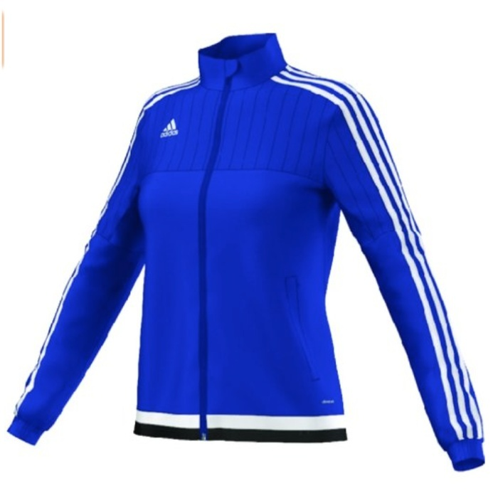 Best Rio Ready Activewear Styles - Adidas Women's Soccer Tiro 15 Training Jacket