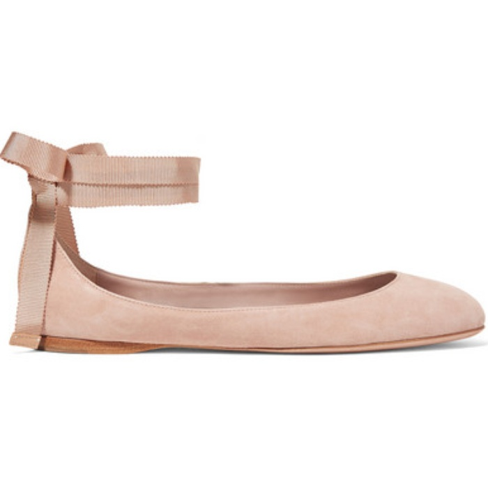 Aerin Leather Flats