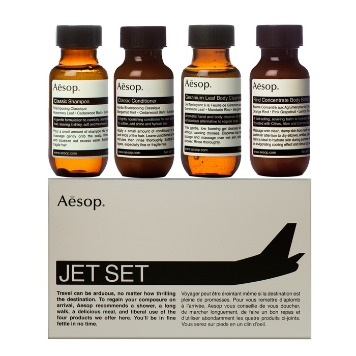 Best For the Frequent Flyer - Aesop Jet Set Kit