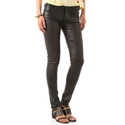 Best Faux Leather Leggings - AG Adriano Goldschmied The Leatherette Legging Jeans