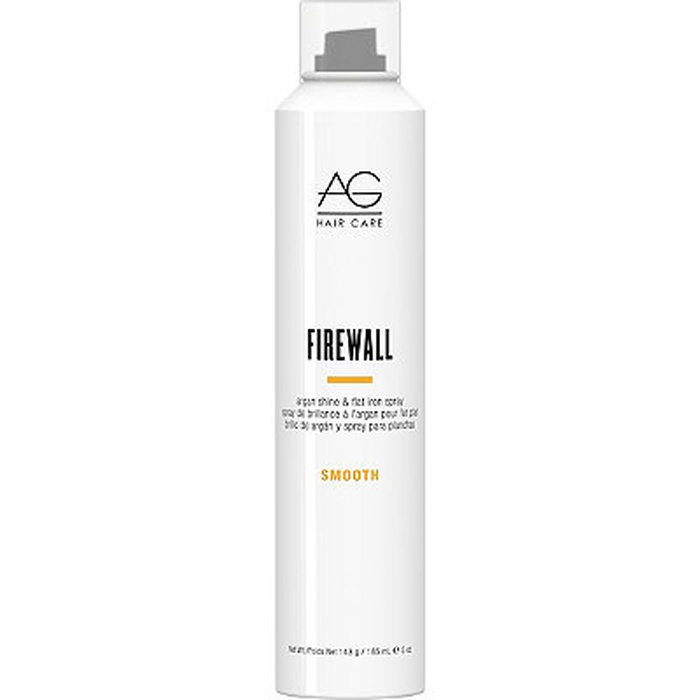 Best Hair Shine Sprays - AG Hair Smooth Firewall Argan Shine And Flat Iron Spray