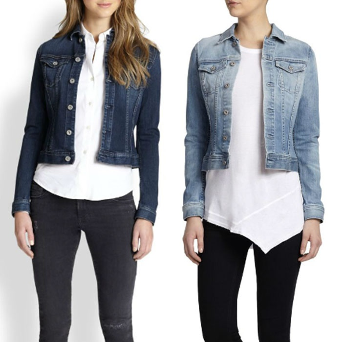 Best Denim Jackets - AG Robyn Denim Jacket