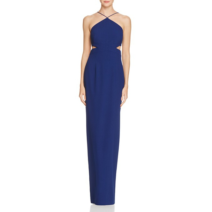 Best Prom Dresses Under $200 - Aidan Aidan Side Cut-Out Column Dress