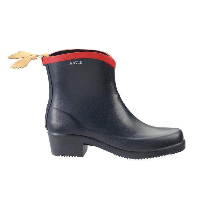 Best Rain Booties - Aigle Miss Juliette Bottillon Navy