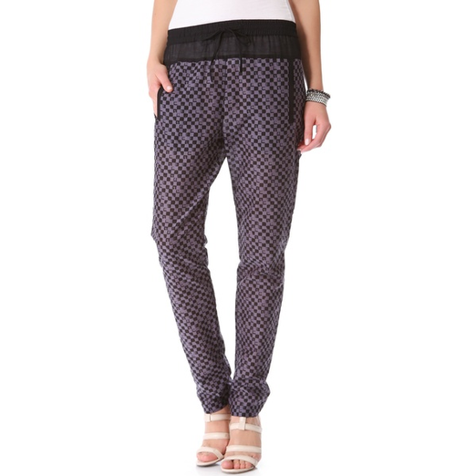 Best Printed Pants - A.L.C. Alak Pants
