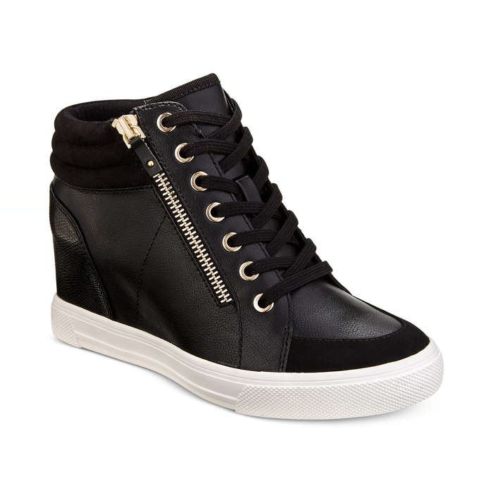 e81af1d2f6b2 Aldo Kaia Lace-Up Wedge Sneakers