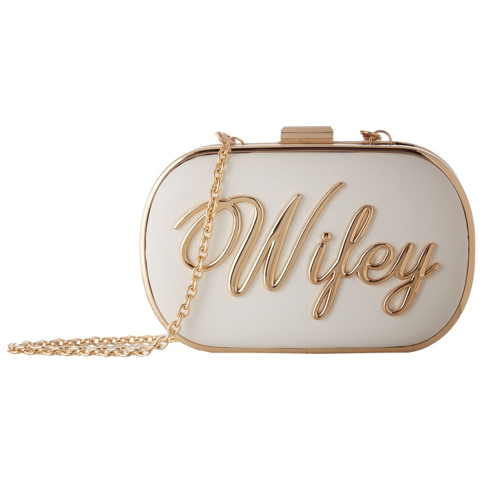 Best Bridal Handbags - Aldo Nikas Clutch