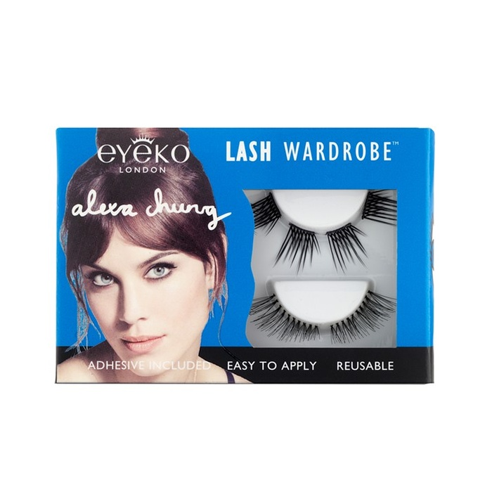 Best False Eyelashes - Alexa Chung for Eyeko Lash Wardrobe False Eyelash Set