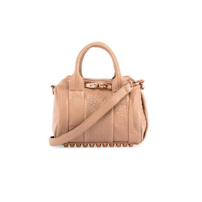 Best Fall Accessories - Alexander Wang Mini Rockie Leather Satchel Bag