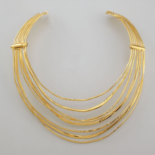 Best Statement Necklaces - Alexis Bittar Lightning Bolt Collar