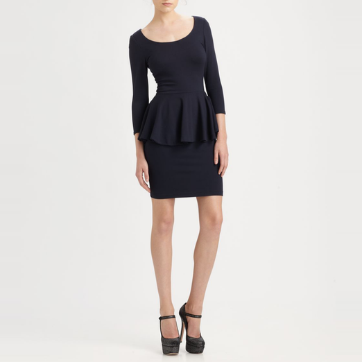 Best Peplum Dresses - Alice + Olivia Amanda Peplum Dress