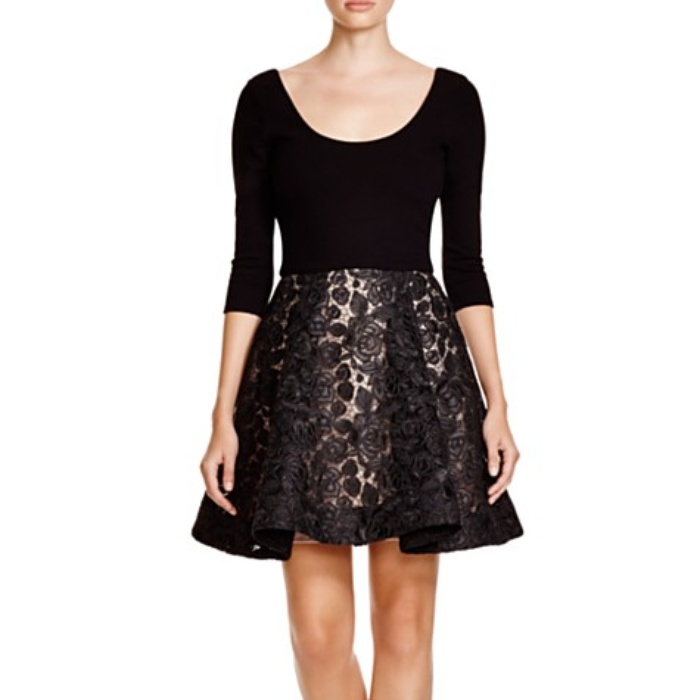 Best Lace Dresses - Alice + Olivia Amie Scoop Neck Lace Dress