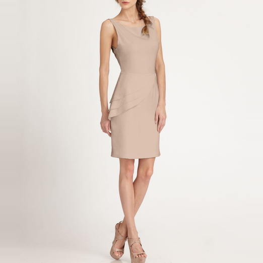 Best Peplum Dresses - Alice + Olivia Spelling Side-Peplum Dress