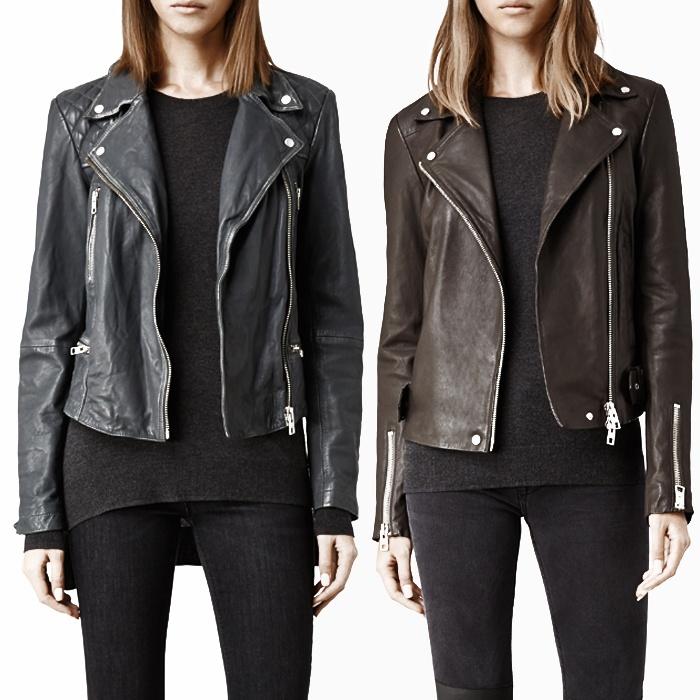 All saint leather jacket