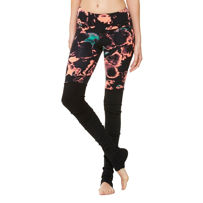 Best Wild printed workout bottoms - Alo Yoga Alo Goddess Ribbed Legging