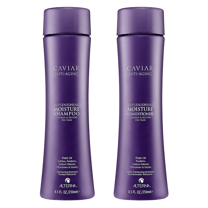 Best Shampoos & Conditioners for Winter - ALTERNA CAVIAR Anti-Aging® Replenishing Moisture Shampoo and Conditioner