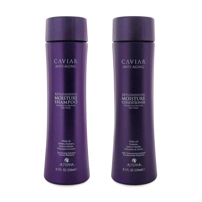 Best Winter Repair Hair Products & Tools - Alterna Caviar Anti-Aging® Replenishing Moisture Shampoo and Conditioner