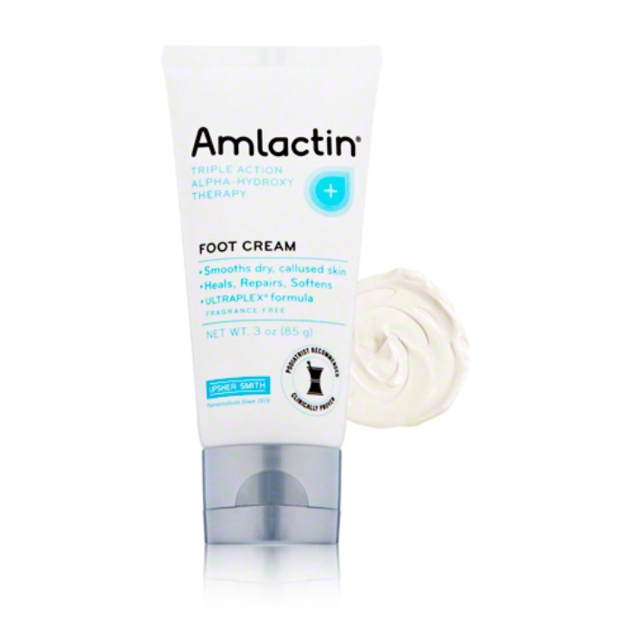 Best At Home Pedicure Essentials - AmLactin Triple Action Alpha Hydroxy Therapy Foot Cream
