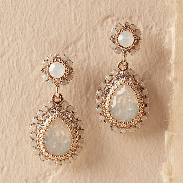 Best Bridal Earrings - Amy O. Maria Opal Earrings