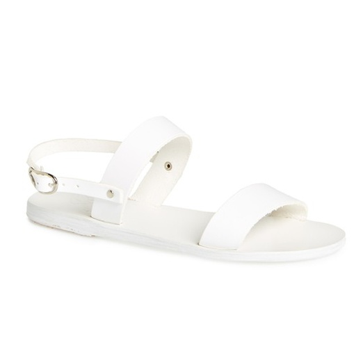 Best Summer White Bests - Ancient Greek Sandals Clio leather sandals