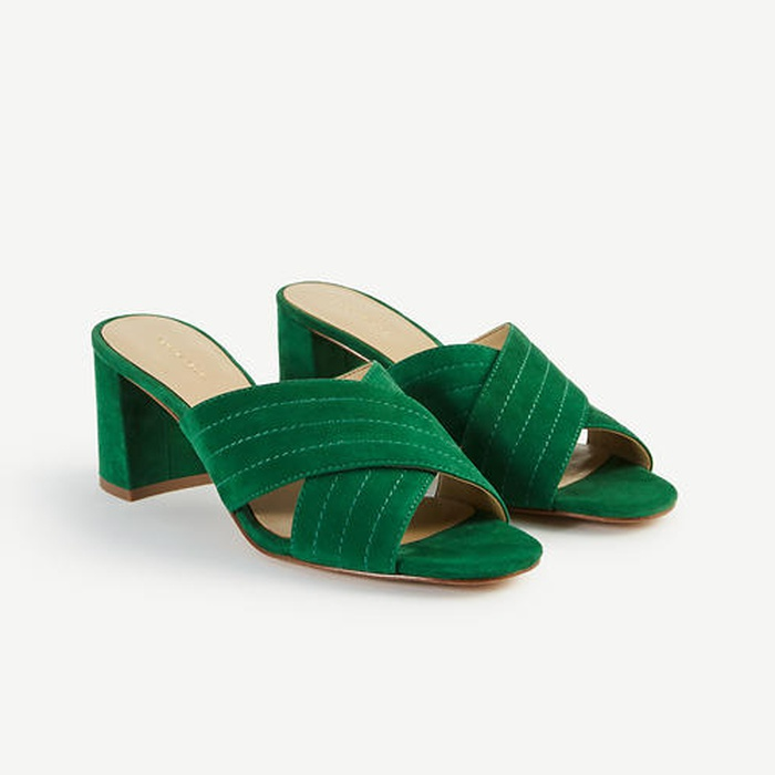 Best Must-Haves for a Timeless Wardrobe - Ann Taylor Honor Suede Heeled Sandals