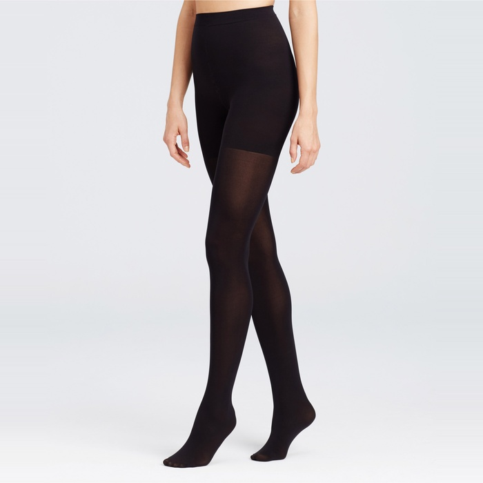 Best Black Tights - Ann Taylor Modern Perfect Control Top Tights