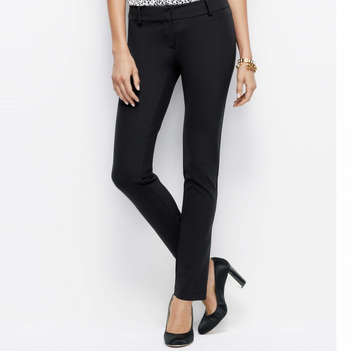 Best Work Pants Under $100 - Ann Taylor Sleek Stretch Ankle Pants