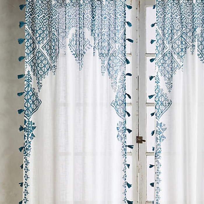 Best Spring Home Accents Under $100 - Anthropologie Adalet Curtain