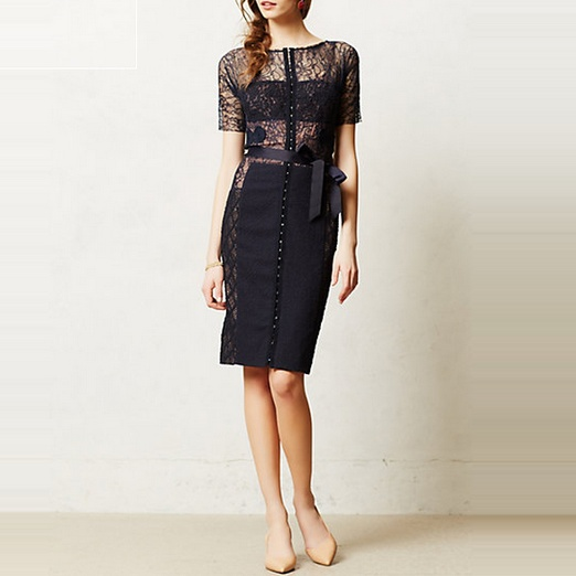 Best Spring LBDs - Anthropologie Carissima Sheath