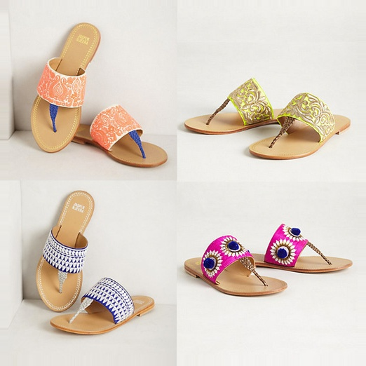 Best Memorial Day Weekend Musts - Anthropologie Needlework Sandals