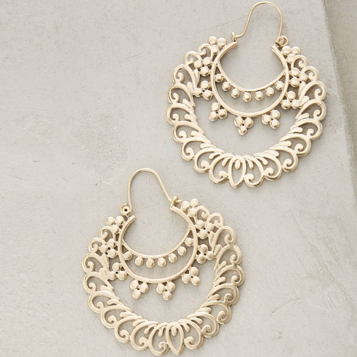 Best Statement Earrings Under $50 - Anthropologie Tangier Earrings