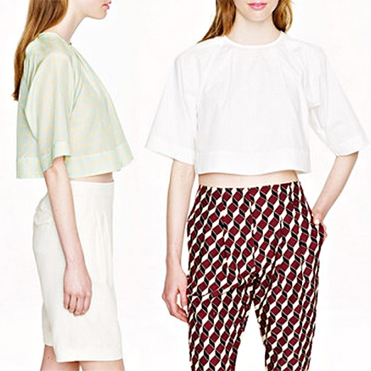 Best Midsummer Crop Tops - Apiece Apart Roberta Crop Top