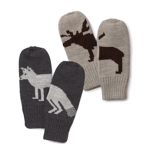 Best Pull out all the Tops... - Aqua Fox and Moose Mittens